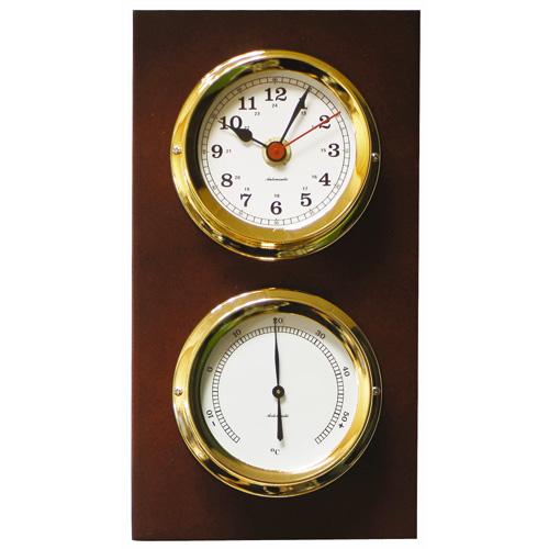 Atlantic 95 Clock and Barometer