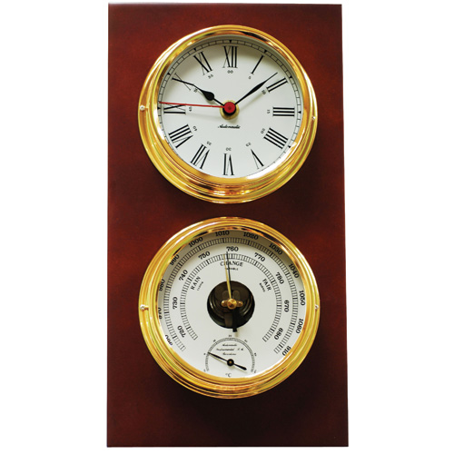 Pacific 120 Clock and Barometer