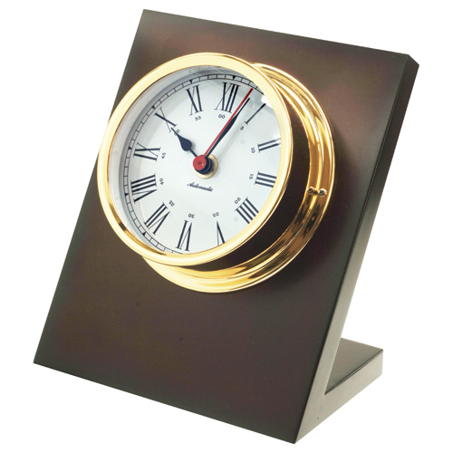 Gold Plated Desk Clock